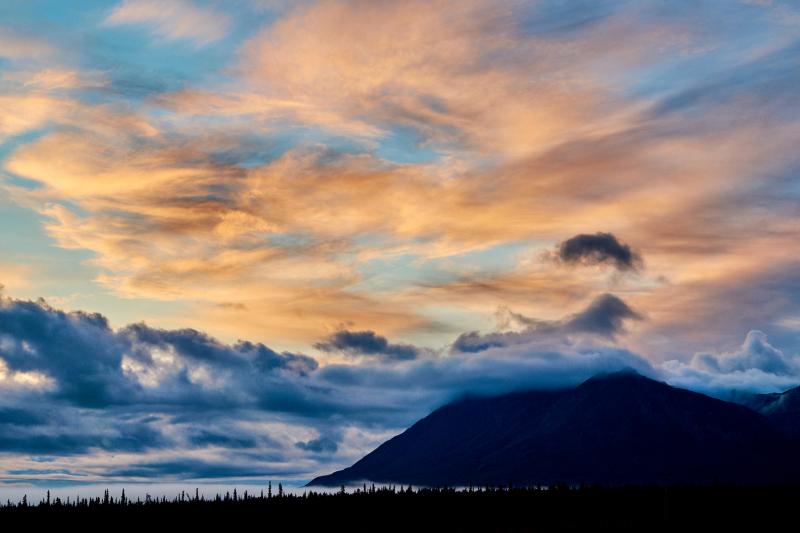 Tahneta Pass Sunrise
