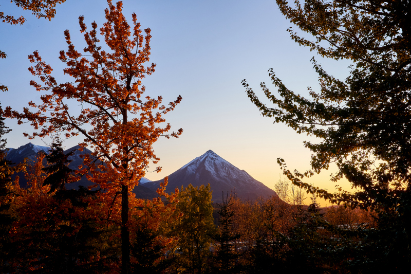 King Mountain Sunset