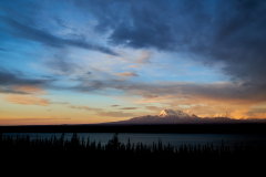 Mt Drum Sunset