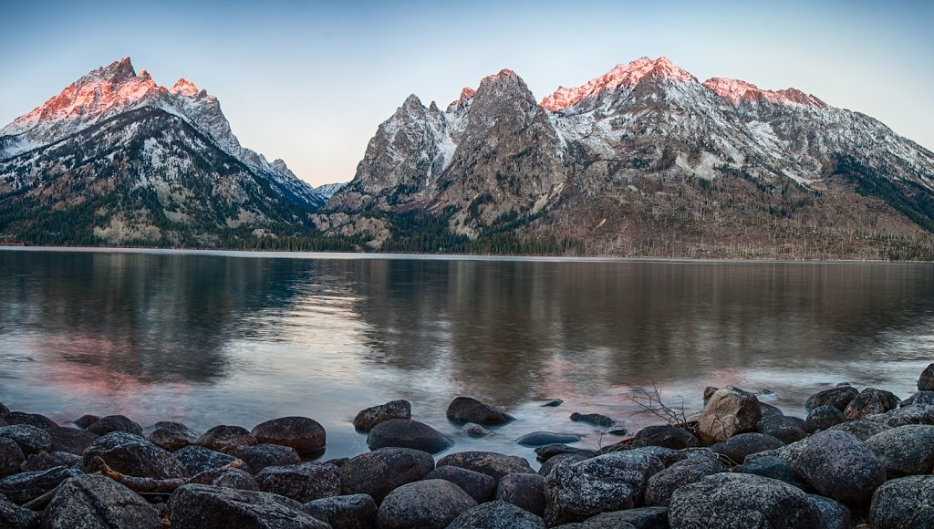 Jenny Lake Sunrise Shoot